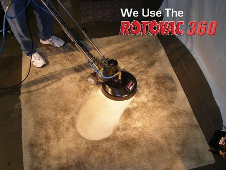 DKB Restoration uses the Rotovac system