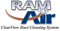 We use the Ram Air Duct Cleaning System